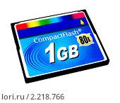 Карта памяти типа Compact Flash 1 Gb