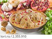 Сациви из курицы, грузинское блюдо, фото № 2355910, снято 17 февраля 2011 г. (c) Давид Мзареулян / Фотобанк Лори