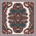 Дизайн платка или банданы с цветочным узором пейсли, иллюстрация № 6459058 (c) Олеся Каракоця / Фотобанк Лори