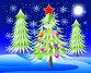 Наряженная новогодняя елка в ночном лесу, иллюстрация № 6704046 (c) Галина Онищенко / Фотобанк Лори