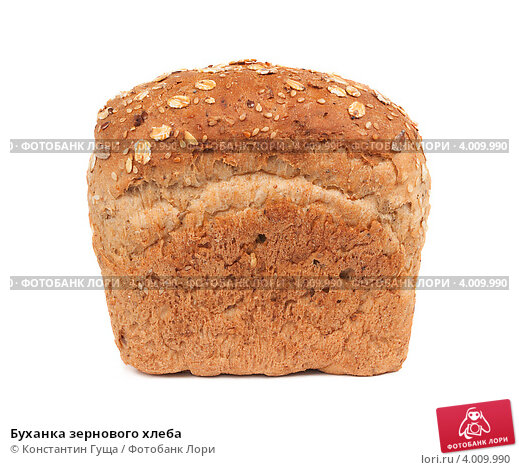 Буханка зернового хлеба, фото 4009990, снято 11 октября 2012 г. (c) Константин Гуща / Фотобанк Лори.