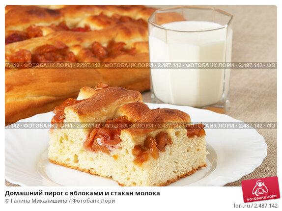 Пирог с яблоками на кефире рецепт пошагово