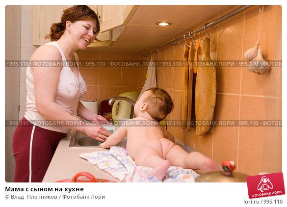 мать соблазнила сына в униформе