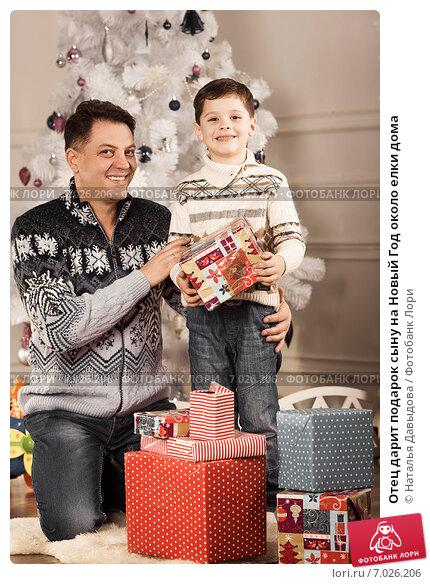 Подарки на новый год сыну