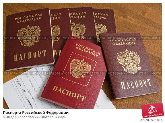 Паспорт российской федерации своими руками