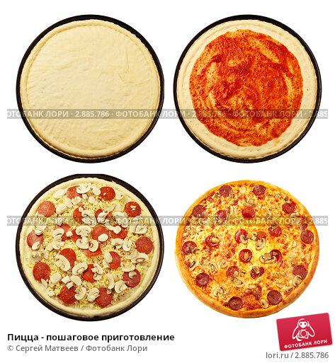 Как делать пиццу пошагово