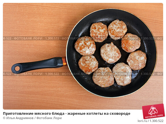 Рецепт мясных блюд на сковороде фото