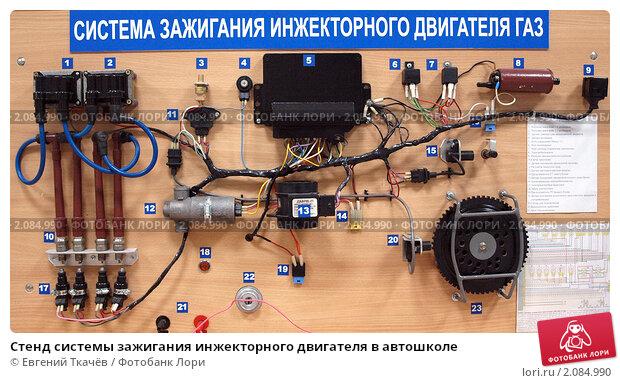 Система зажигания инжекторных двигателей ваз
