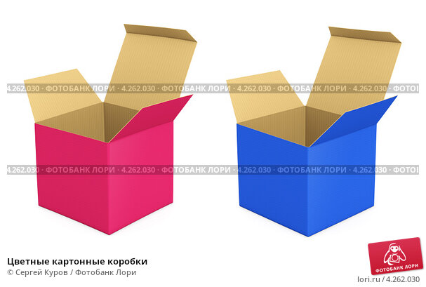 Коробочка из цветного картона своими руками