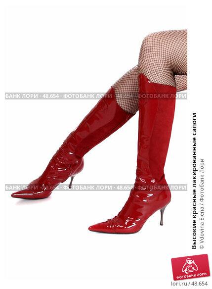 Высокие красные лакированные сапоги, фото 48654, снято 10 мая 2007 г. (c...