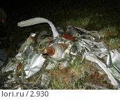 Купить «Обломки самолета времен великой отечественной войны», фото № 2930, снято 16 августа 2005 г. (c) Николай Гернет / Фотобанк Лори