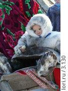 Купить «Ненец», фото № 3130, снято 25 марта 2006 г. (c) Николай Гернет / Фотобанк Лори