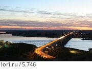 Купить «Хабаровск. Мост через Амур», эксклюзивное фото № 5746, снято 21 сентября 2005 г. (c) Ирина Терентьева / Фотобанк Лори