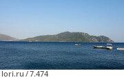 Купить «Море и холмы. Широкий формат», фото № 7474, снято 4 июля 2006 г. (c) Маргарита Лир / Фотобанк Лори