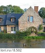 Купить «Франция. Нормандия. Мельница в деревушке Вель-ле-Роз», фото № 8502, снято 20 октября 2005 г. (c) Валерий Ситников / Фотобанк Лори