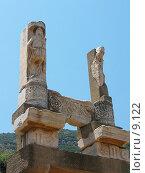 Купить «Барельефы храма Домициана. Эфес, Турция», фото № 9122, снято 24 сентября 2018 г. (c) Маргарита Лир / Фотобанк Лори