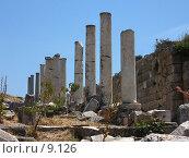 Купить «Ряд колонн. Эфес, Турция», фото № 9126, снято 9 июля 2006 г. (c) Маргарита Лир / Фотобанк Лори