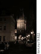 Купить «Пороховая Башня в Праге», фото № 9822, снято 4 июня 2006 г. (c) Cangaroo / Фотобанк Лори