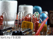 Купить «Микросхема», фото № 9838, снято 4 сентября 2006 г. (c) Ольга Красавина / Фотобанк Лори