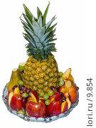 Купить «Объекты на белом: фрукты», фото № 9854, снято 17 июня 2019 г. (c) Угоренков Александр / Фотобанк Лори