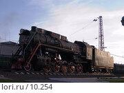 Купить «Старый паровоз», фото № 10254, снято 28 сентября 2006 г. (c) Форис Алексей / Фотобанк Лори