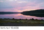 Купить «Фиолетовый рассвет», фото № 10658, снято 5 августа 2004 г. (c) Вячеслав Потапов / Фотобанк Лори