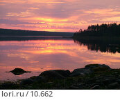 Купить «Рассвет», фото № 10662, снято 5 августа 2004 г. (c) Вячеслав Потапов / Фотобанк Лори