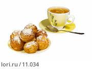 Купить «Чай с пирожными», фото № 11034, снято 11 октября 2006 г. (c) Угоренков Александр / Фотобанк Лори