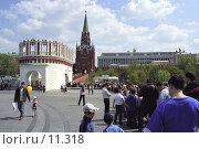 Купить «Москва, Кремль, Кутафья башня», фото № 11318, снято 18 августа 2018 г. (c) Юрий Синицын / Фотобанк Лори