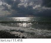 Купить «Море в феврале», фото № 11418, снято 13 февраля 2005 г. (c) Дмитрий Б / Фотобанк Лори
