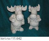 Купить «Парочка влюбленных лосей», фото № 11642, снято 29 октября 2006 г. (c) Дмитрий Б / Фотобанк Лори