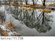 Купить «Первый снег на Десне», фото № 11738, снято 21 февраля 2019 г. (c) Vladimir Suponev / Фотобанк Лори