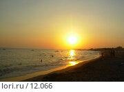 Закат и море. Стоковое фото, фотограф Екатерина / Фотобанк Лори