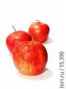 Купить «Фруктовая диета - три яблока», фото № 15390, снято 22 сентября 2018 г. (c) Угоренков Александр / Фотобанк Лори