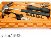 Купить «Рабочие инструменты в ящике», фото № 16934, снято 11 февраля 2007 г. (c) Угоренков Александр / Фотобанк Лори