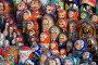 Русская матрешка - отличный сувенир народного творчества, фото № 17830, снято 28 января 2007 г. (c) Юрий Синицын / Фотобанк Лори