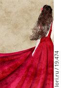 Купить «Красное платье, коллаж», иллюстрация № 19474 (c) Tamara Kulikova / Фотобанк Лори