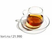 Купить «Чашка чая», фото № 21990, снято 2 января 2006 г. (c) Михаил Лавренов / Фотобанк Лори