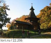 Купить «Проездная башня Николо-Корельского монастыря в Коломенском», фото № 22206, снято 1 октября 2005 г. (c) Fro / Фотобанк Лори