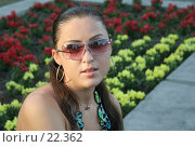 Купить «Девушка», фото № 22362, снято 7 июля 2005 г. (c) Вадим Пономаренко / Фотобанк Лори
