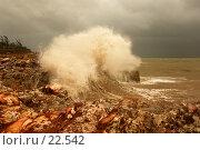Огромная волна. Шторм на море Арафура. Стоковое фото, фотограф Eleanor Wilks / Фотобанк Лори