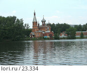 Купить «Храм у воды», фото № 23334, снято 11 июля 2006 г. (c) Марюнин Юрий / Фотобанк Лори