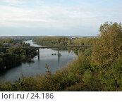 Купить «Беломестненский мост, город Ливны», фото № 24186, снято 21 сентября 2002 г. (c) Вячеслав Потапов / Фотобанк Лори