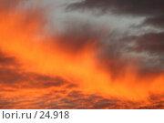 Купить «Закатное небо», эксклюзивное фото № 24918, снято 2 декабря 2005 г. (c) Ирина Мойсеева / Фотобанк Лори