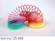 Купить «Лысая крыса в цветной игрушке-пружинке», фото № 25430, снято 18 марта 2007 г. (c) Golden_Tulip / Фотобанк Лори