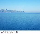 Купить «Море, мыс и небо», фото № 26158, снято 9 ноября 2006 г. (c) Маргарита Лир / Фотобанк Лори
