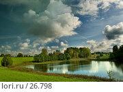 Купить «Осеннее озеро», фото № 26798, снято 23 мая 2018 г. (c) Aleksander Kaasik / Фотобанк Лори