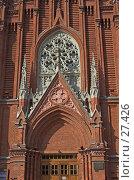 Купить «Вход в католический храм», фото № 27426, снято 24 марта 2007 г. (c) Ольга Шаран / Фотобанк Лори