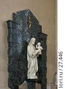 Купить «Статуя в католическом храме», фото № 27446, снято 24 марта 2007 г. (c) Ольга Шаран / Фотобанк Лори