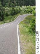 Купить «Лента дороги», фото № 28630, снято 20 июля 2006 г. (c) Андрей Ерофеев / Фотобанк Лори